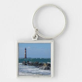 Morris Lighthouse Folly Beach Keychain