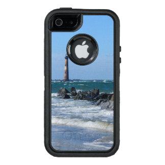 Morris Lighthouse Folly Beach OtterBox Defender iPhone Case