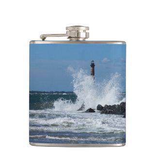 Morris Lighthouse Splash Flask