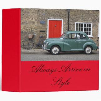 Morris Minor Classic Car Binder