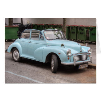 Morris Minor Convertible Tourer Card