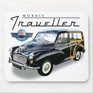 Morris Minor Traveller Mouse Pad