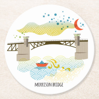 Morrison Bridge Portland Coaster