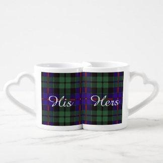 Morrison clan Plaid Scottish tartan Coffee Mug Set