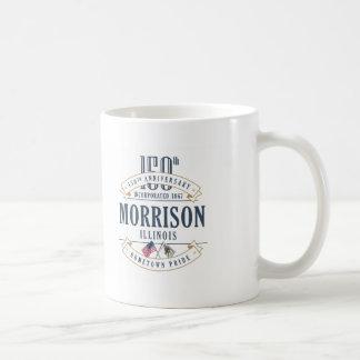 Morrison, Illinois 150th Anniversary Mug