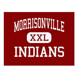 Morrisonville - Indians - Senior - Morrisonville Postcard