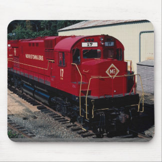 Morristown and Erie Alcos, No. 17 and No. 16, Morr Mouse Pad