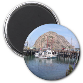 Morro Bay Memories for Your Fridge Door 2 Inch Round Magnet