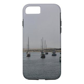 Morro Bay sailboats phone case