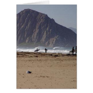 Morro Rock Beaches Surfers Card