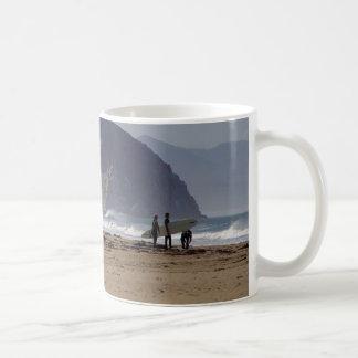 Morro Rock Beaches Surfers Coffee Mug