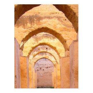 morrocan arches via mao postcard