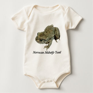 Morrocan Midwife Toad Baby Bodysuit