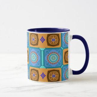 Morroccan Tile Series Mug 01