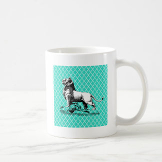morrocco lion coffee mug