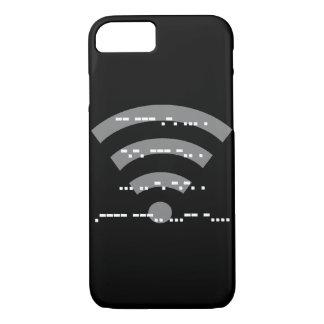 Morse code black design phone case various models