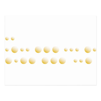 "Morse Code ""I love You"" Postcard"