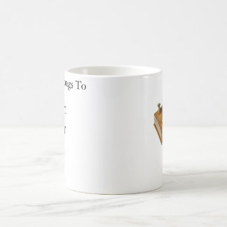 Morse code Tea mug