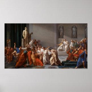 Mort de Cesar, Death of Caesar Poster