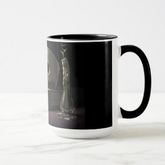 Mortality Hourglass Coffee Mug