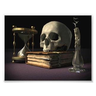 Mortality Hourglass Photo Print