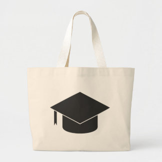 Mortar Board Large Tote Bag
