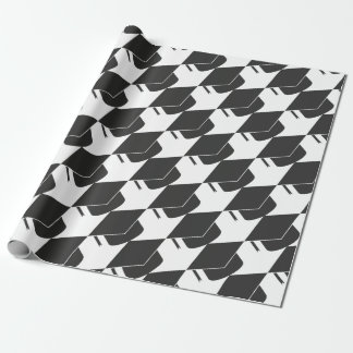 Mortar Board Wrapping Paper