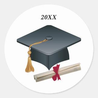 Mortar & diploma Graduation Seal