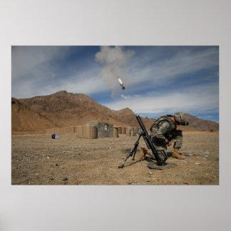 Mortar Fire Poster