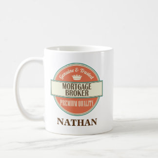 Mortgage Broker Personalized Office Mug Gift