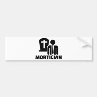 Mortician Bumper Sticker