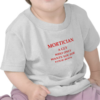 mortician joke tees