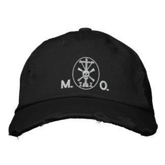 Mortis et Orationis (M.O.) symbol Embroidered Hats