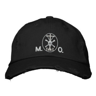 Mortis et Orationis (M.O.) symbol Embroidered Hats
