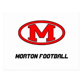Morton JFL Football Postcard