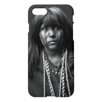 Mosa - A Mojave Woman by Edward S. Curtis iPhone 8/7 Case