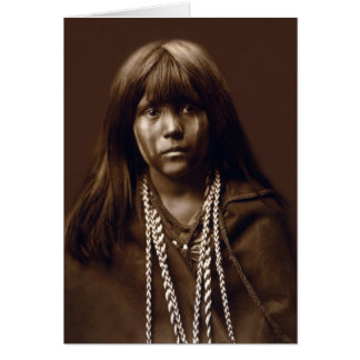 Mosa - A Mojave Woman - Native American Archives Card