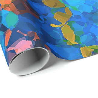 Mosaic 13C Wrapping Paper