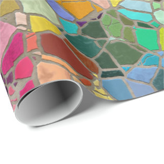 Mosaic 15A Wrapping Paper