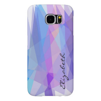 Mosaic Abstract Modern Geometric Background #2 Samsung Galaxy S6 Cases
