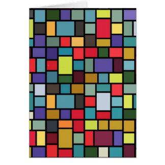Mosaic All-Purpose Greeting Card