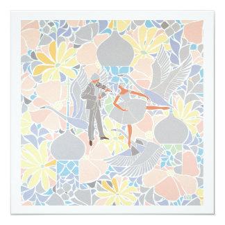 Mosaic art entitled 'Autumn' Card