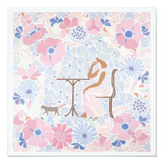 Mosaic art entitled 'Spring' Card