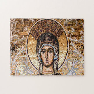 Mosaic Ayia Napa Virgin Mary Cyprus. Jigsaw Puzzle
