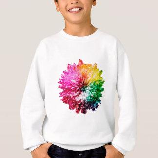 Mosaic Beautiful Multicoloured Flower Sweatshirt