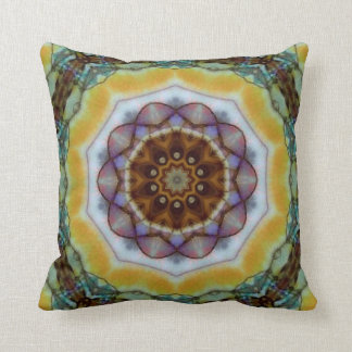 Mosaic Beauty. Throw Pillow