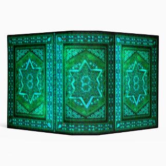 Mosaic Box Green 3 Ring Binder