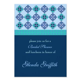 Mosaic Bridal Shower Invitation
