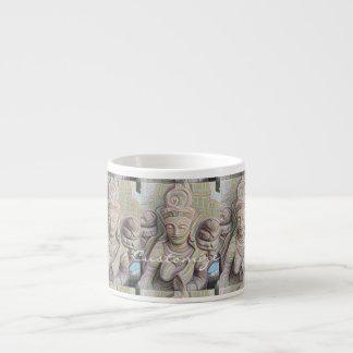 Mosaic  buddha statue Thunder_Cove Espresso Cup