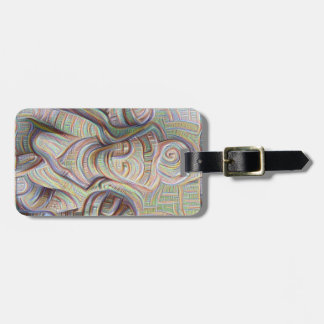 Mosaic  buddha statue Thunder_Cove Luggage Tag
